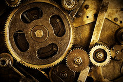 Gear background Royalty Free Stock Photos