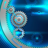 Gear background 4 Royalty Free Stock Photo