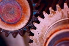 Gear background Royalty Free Stock Images