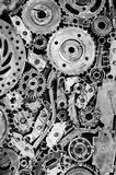 Gear background Stock Photography