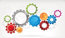 Gear Background Royalty Free Stock Photo