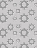 Gear background pattern Stock Image