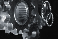 Gear and bearings royalty free stock photo