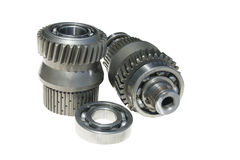 Gear and bearings Stock Images