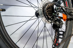 Gear bike, close up, mountain bike Stock Image