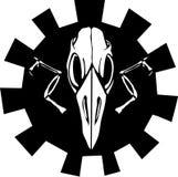 Gear Bird Skull Stock Photo