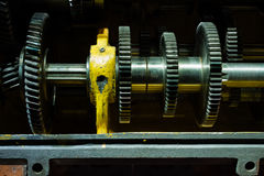 Gear box Close-up Stock Images