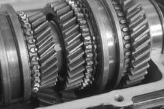 Gear box inner Stock Photos