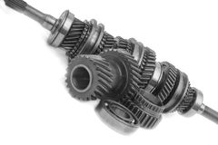 Gear box part Stock Photos