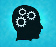 Gear brain Stock Images