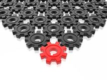 Gear business work Royalty Free Stock Photo