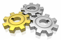 Gear business work Royalty Free Stock Image