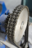 Gear and chain Royalty Free Stock Photography