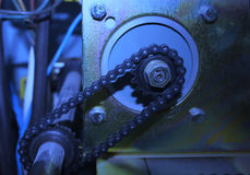 Gear chain Royalty Free Stock Photography