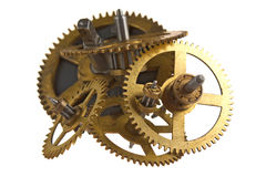 Gear of the clock Stock Photos