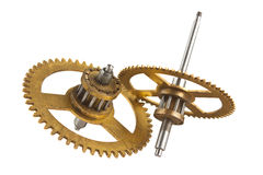 Gear of the clock Stock Photography