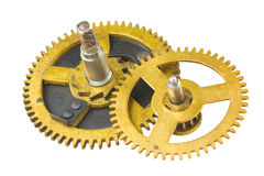 Gear of the clock Stock Images