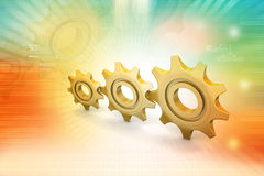 Gear cog Stock Images