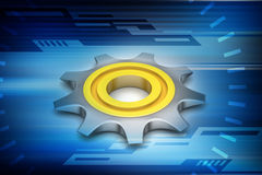 Gear cog Royalty Free Stock Photography