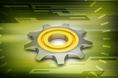 Gear cog Royalty Free Stock Image