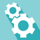 Gear or cog icons Stock Photography