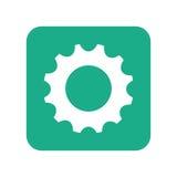 Gear cog wheel. Icon vector illustration graphic design Royalty Free Stock Photos
