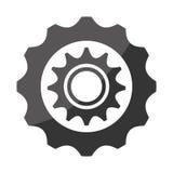 Gear,cog or wheel isolated icon. Stock Photos