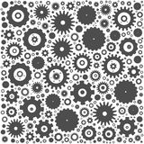 Gear cog wheels background Royalty Free Stock Image