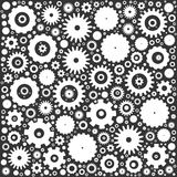 Gear cog wheels background Royalty Free Stock Photo