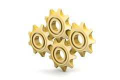 Gear cog Stock Photography