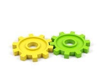 Gear cogs Stock Photo