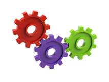 Gear cogs Royalty Free Stock Images