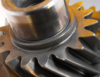 Gear Cogs. Cogs from a cars transmission Royalty Free Stock Image