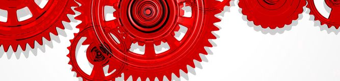 Gear / cogwheel Royalty Free Stock Images
