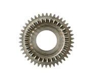 Gear cogwheels - part of clockworm mechanism Royalty Free Stock Photo