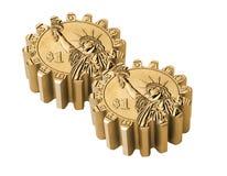 Gear coin Stock Photos