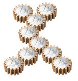 Gear coin Stock Image