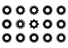 Gear collection machine gear Royalty Free Stock Image