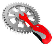 The gear Royalty Free Stock Image