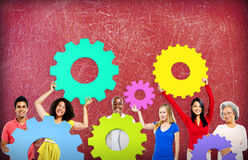 Gear Connection Collaboration Corporate Team Concept Royalty Free Stock Photo