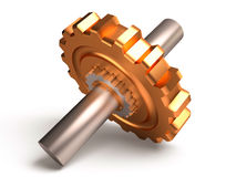 Gear, 3D Royalty Free Stock Photography