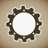 Gear design Stock Images