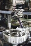 Gear engine Stock Photos