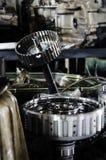 Gear engine Royalty Free Stock Photos