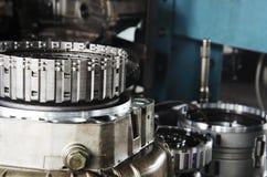 Gear engine Stock Image