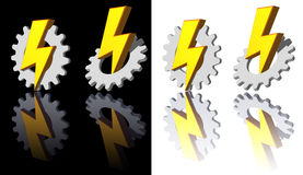Gear - flash Stock Photography