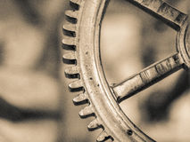 Gear, a gear moves the world Stock Image