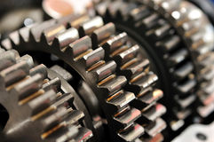 Gear gearbox. Royalty Free Stock Images