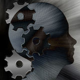Gear head Royalty Free Stock Photo