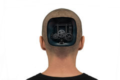 Gear head Royalty Free Stock Image